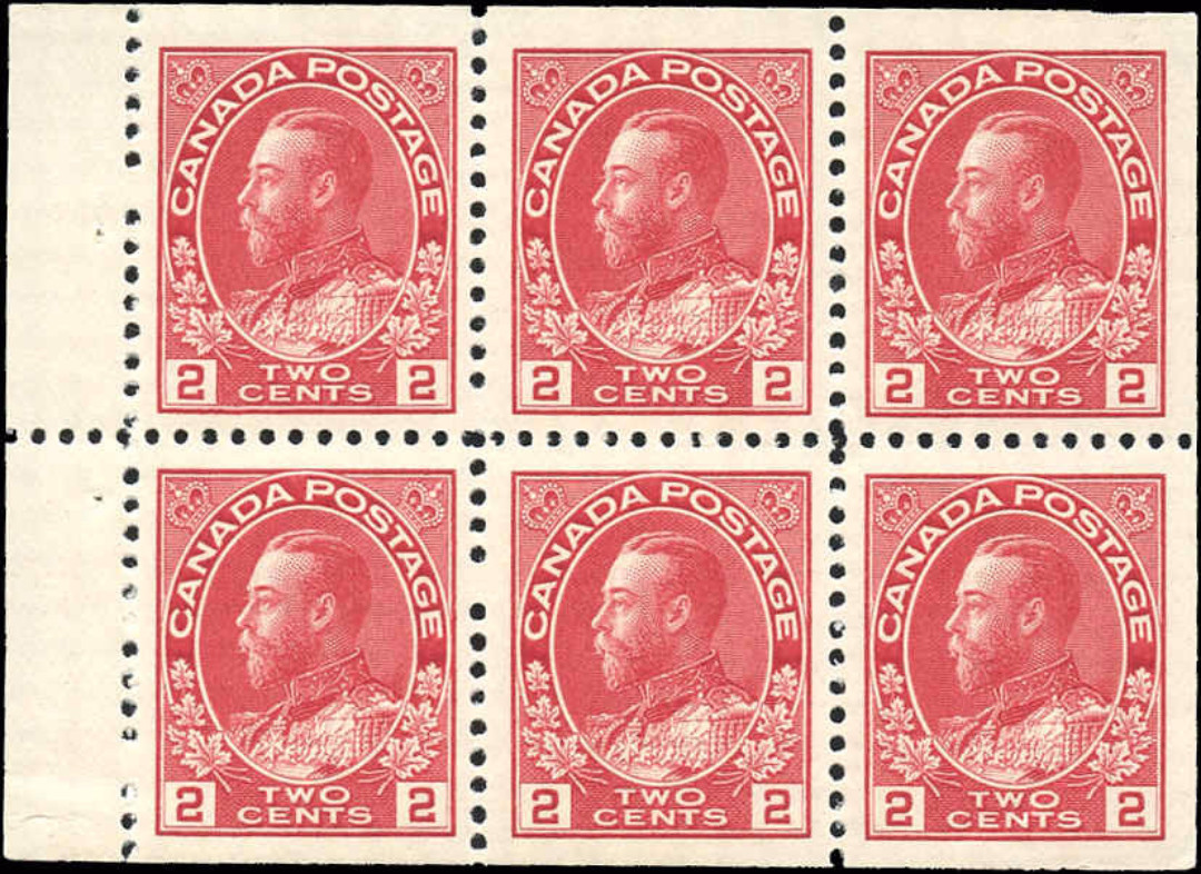 Canada #106a, Admiral Issue, F-VF, MNH