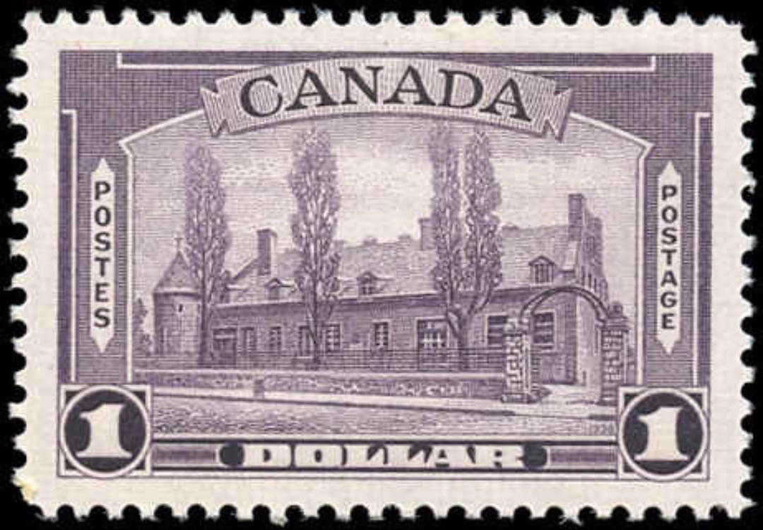 Canada #245, 1938 Pictorial Issue, VF, MNH