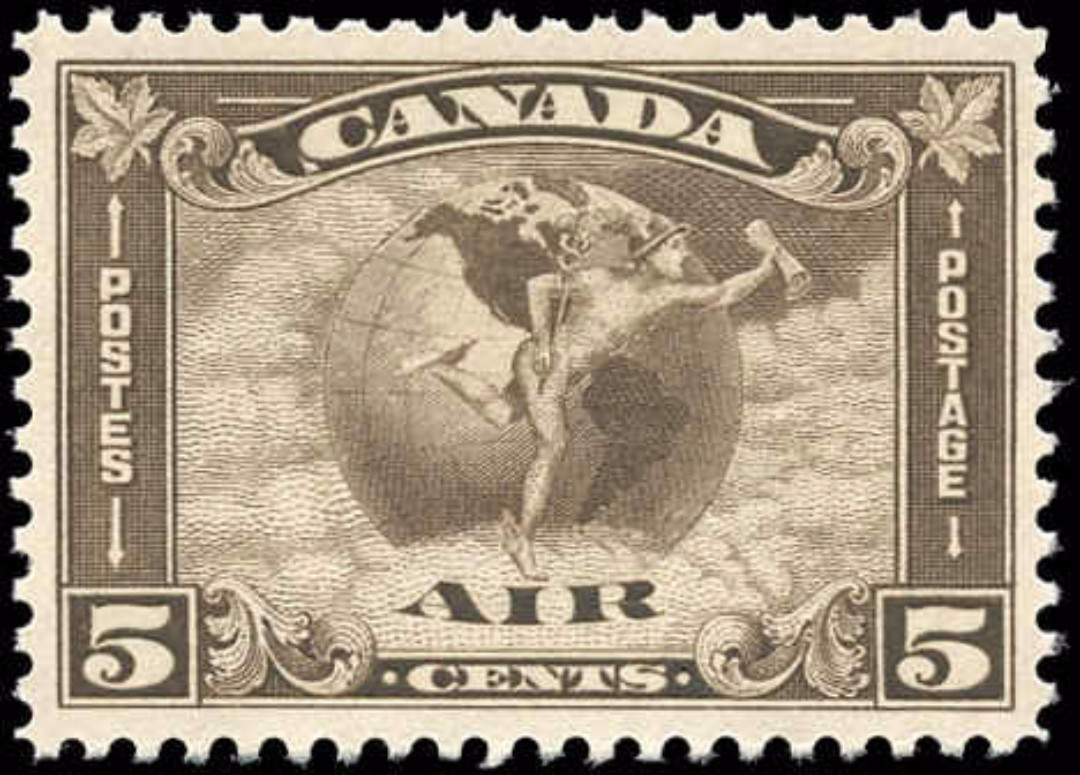 Canada #C2, Airmail Issue, VF, MNH