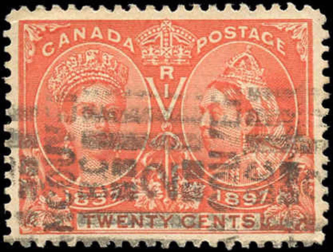 Canada ##59 Jubilee Stamp VF Used