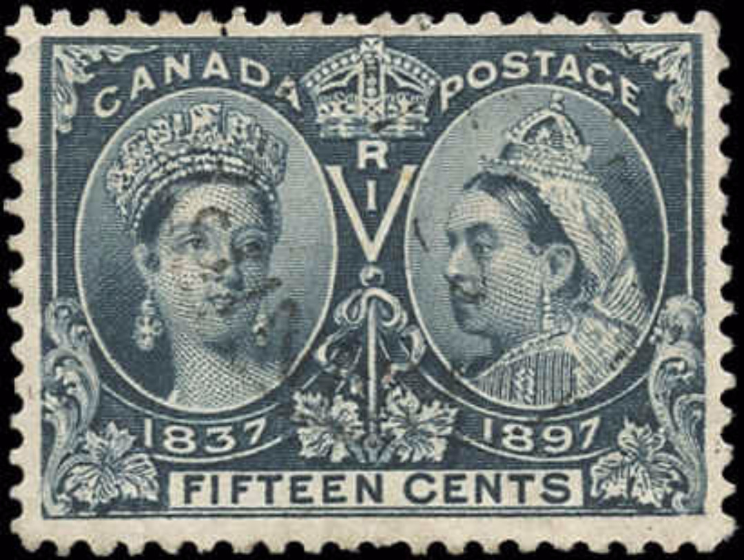 Canada ##58, Jubilee Issue, F-VF, Used