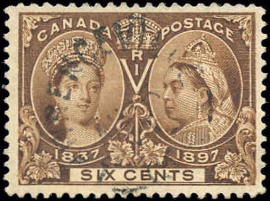 Canada ##55, Jubilee Issue, F-VF, Used