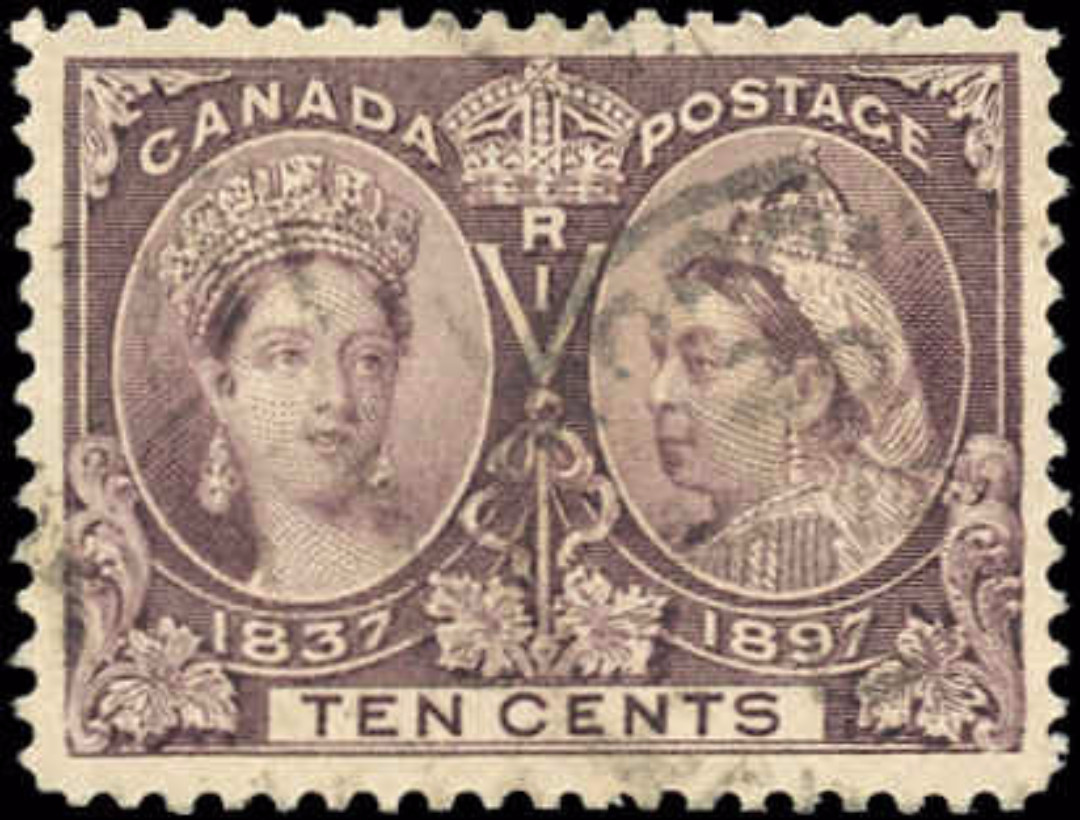 Canada ##57, Jubilee Issue, F-VF, Used