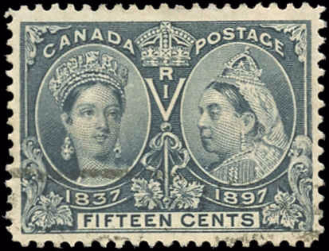 Canada ##58 Jubilee Stamp VF Used