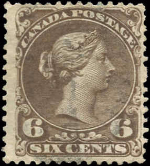 Canada ##27, Large Queen Issue, F-VF, Used