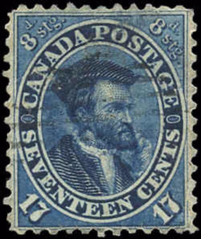 Canada ##19, First Cents Issue, F-VF, Used