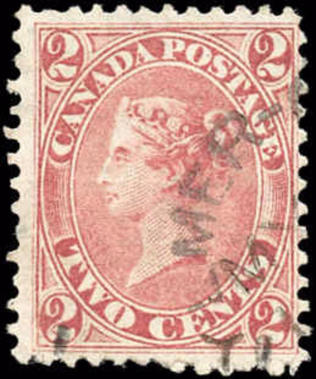 Canada ##20, First Cents Issue, F+, Used