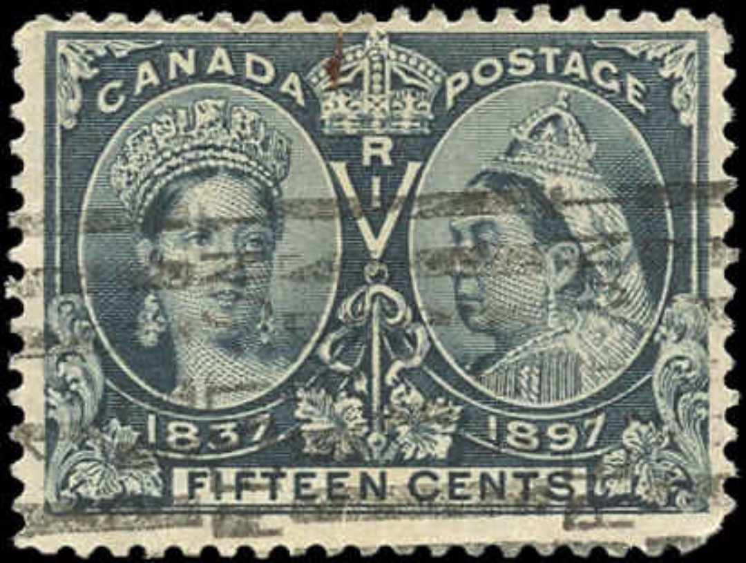 Canada ##58, 15c Jubilee Issue, F+, Used