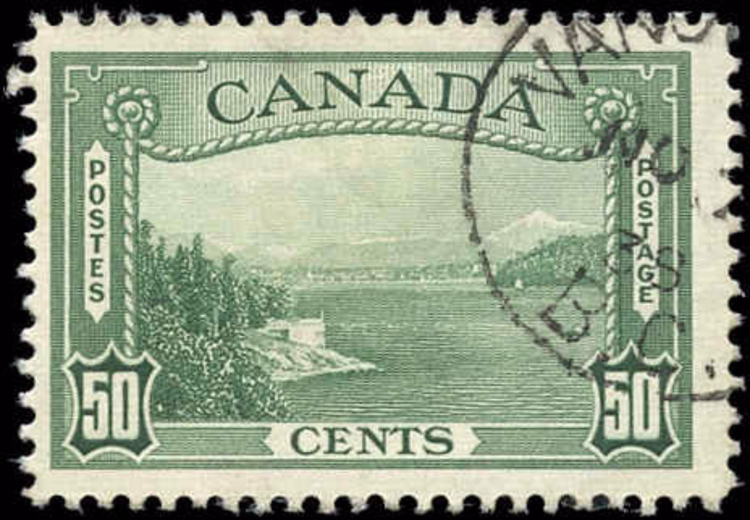 Canada #244, 1938 Pictorial Issue, F-VF, Used