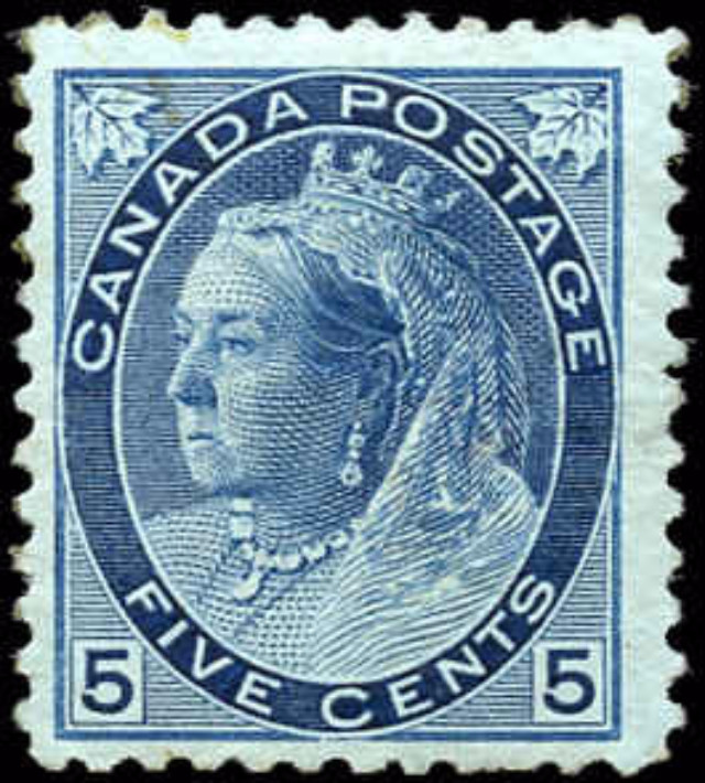 Canada ##79, Numeral Issue, F, MH