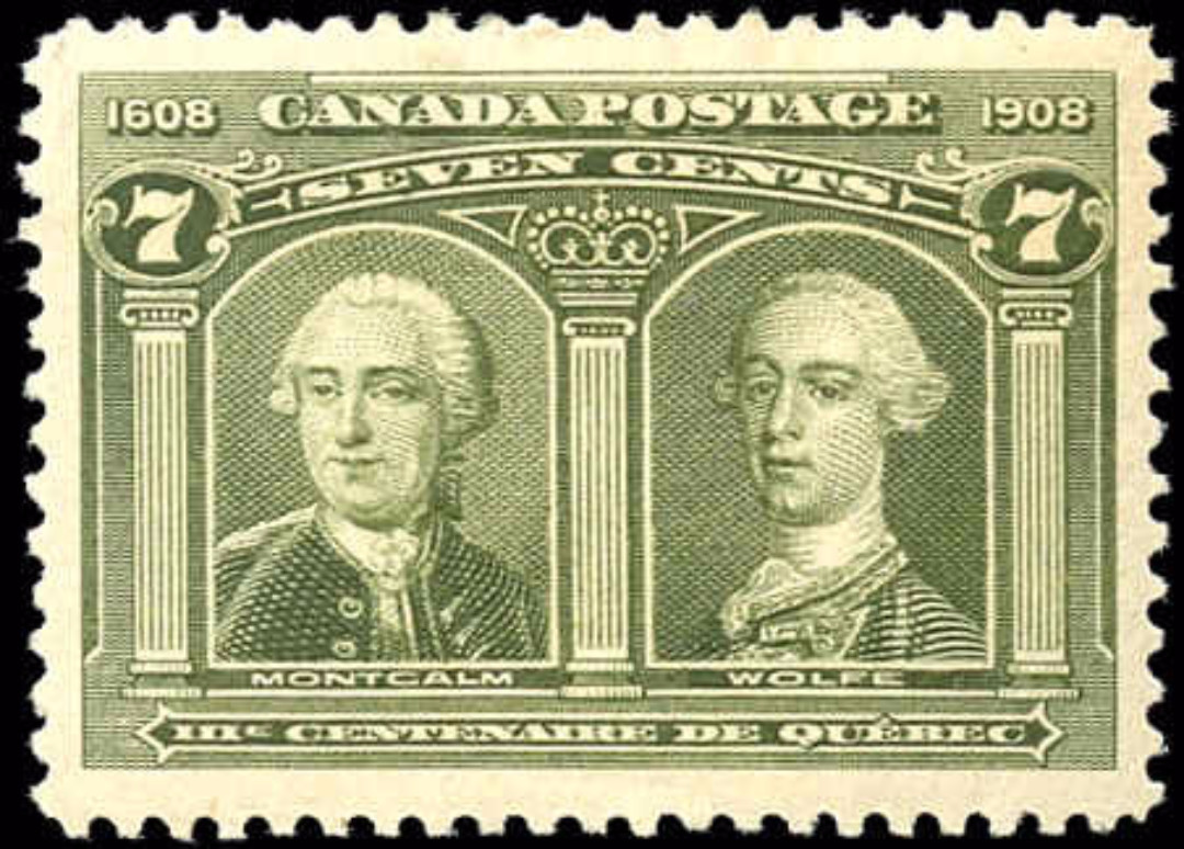 Canada #100, Tercentenary Issue, VF, MH