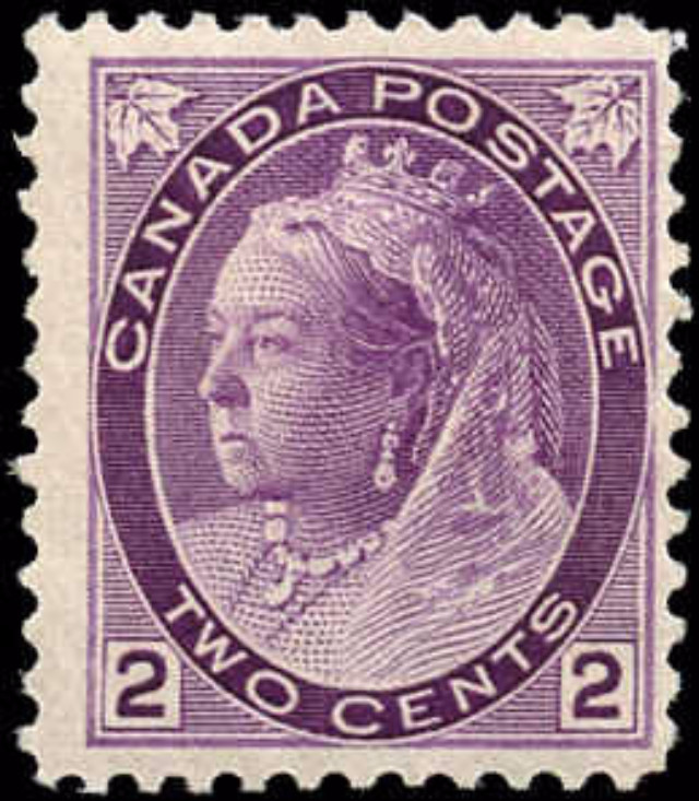 Canada ##76a, Numeral Issue, F+, MH