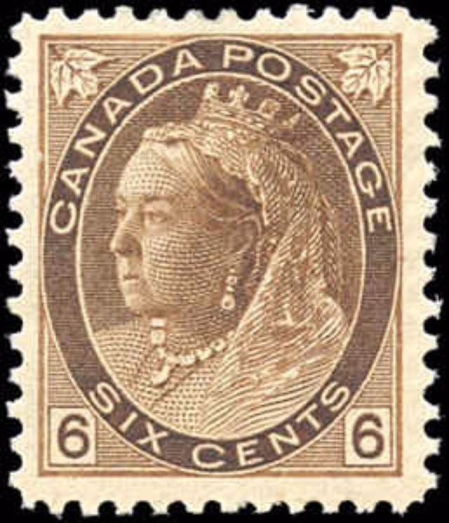Canada ##80, Numeral Issue, F-VF, MH