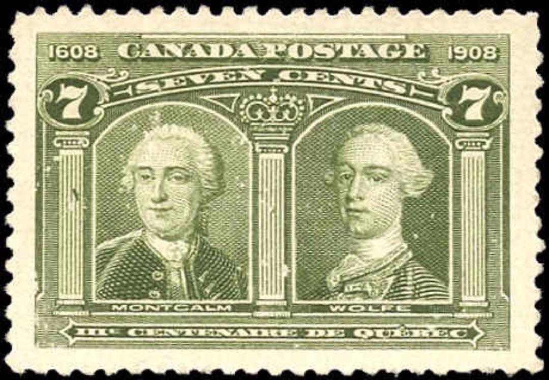 Canada #100, Tercentenary Issue, VF, MNG