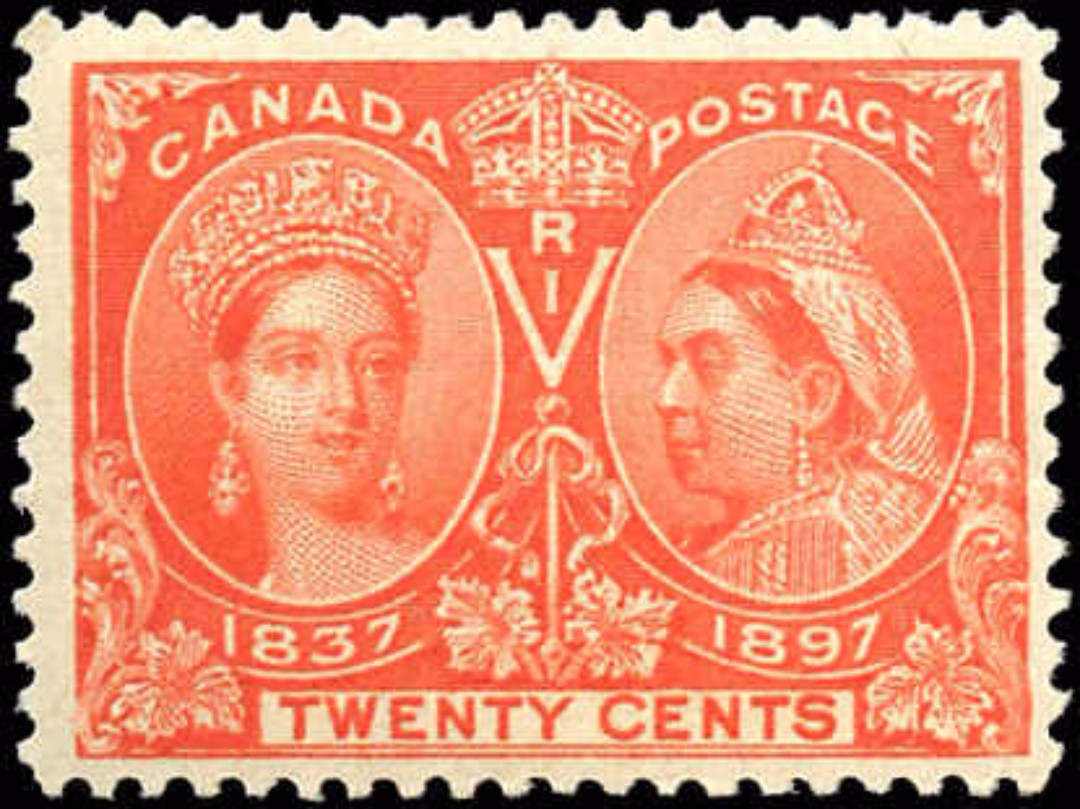 Canada ##59, Jubilee Issue, F+, MH