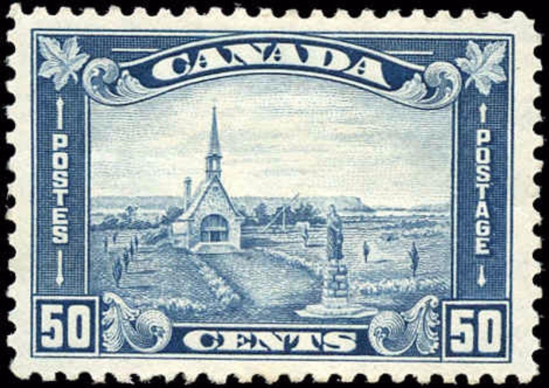 Canada #176, Arch/Leaf Issue, VF, MH