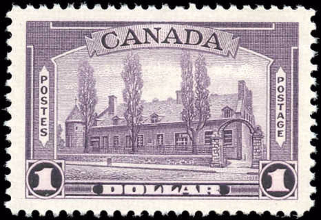 Canada #245, 1938 Pictorial Issue, VF, MH