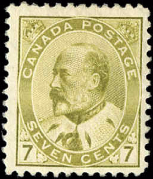 Canada ##92, King Edward VII Issue, F, MH