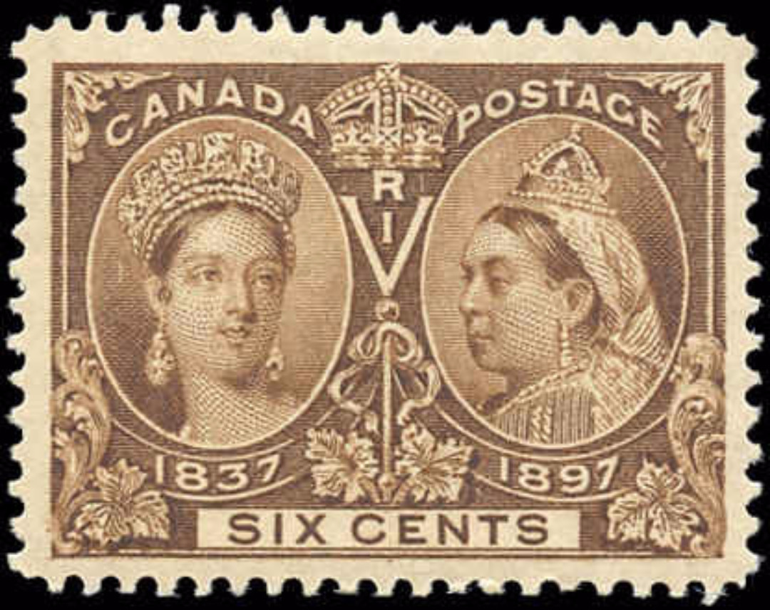 Canada ##55 Jubilee Stamp VF Mint H