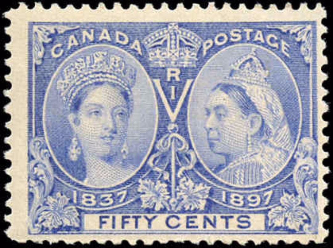 Canada ##60, Jubilee Issue, F, MH