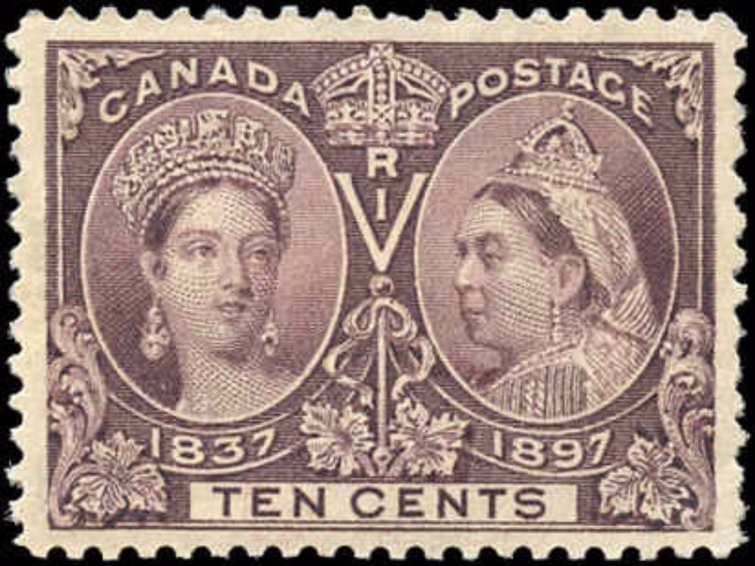 Canada ##57 Jubilee Stamp VF Mint H