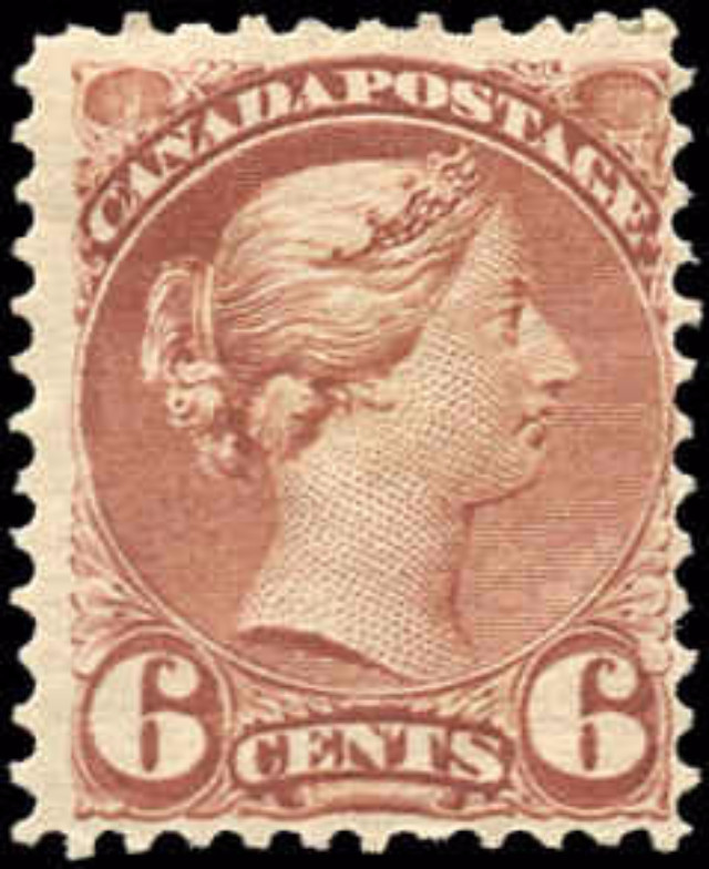 Canada ##39, Small Queen Issue, F, MH