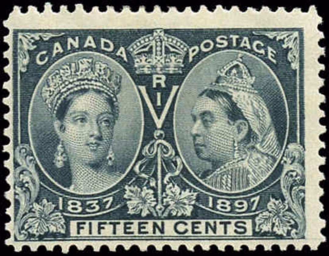 Canada ##58, Jubilee Issue, F, MH