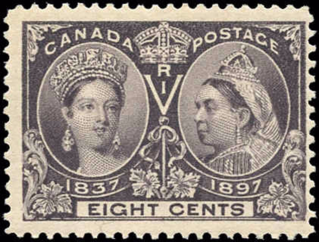 Canada ##56 Jubilee Stamp F-VF Mint NH