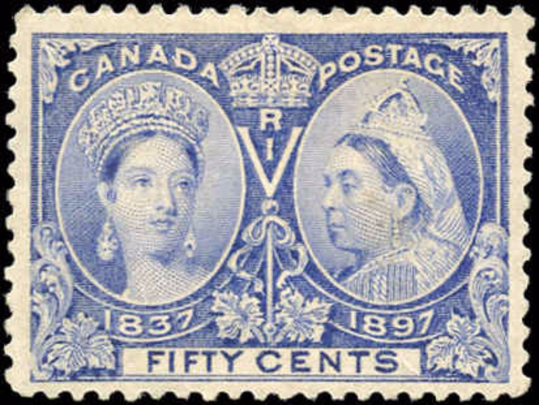 Canada ##60, Jubilee Issue, F-VF, MH