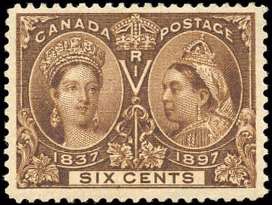 Canada ##55, Jubilee Issue, F-VF, MH