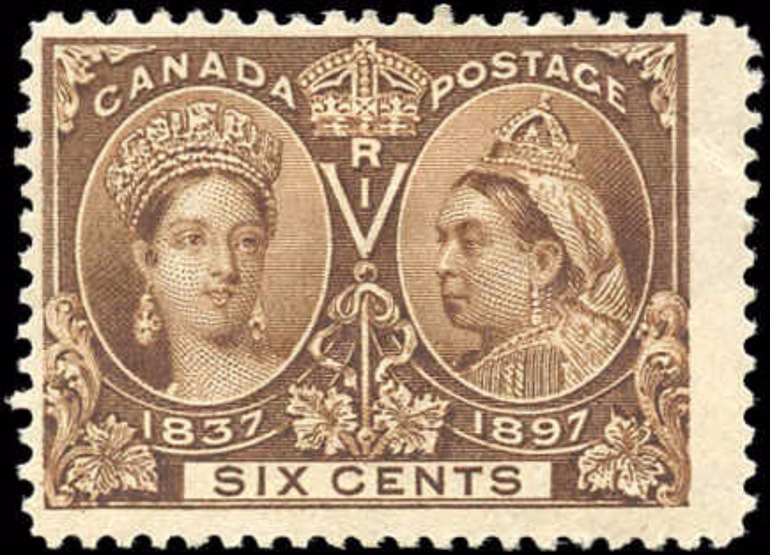 Canada ##55, Jubilee Issue, F, MH