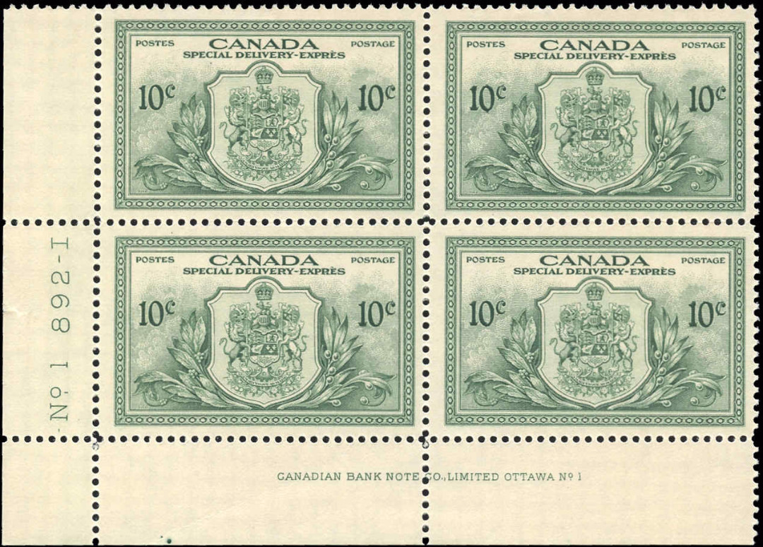 Canada #E11, Special Delivery Issue, F+, M