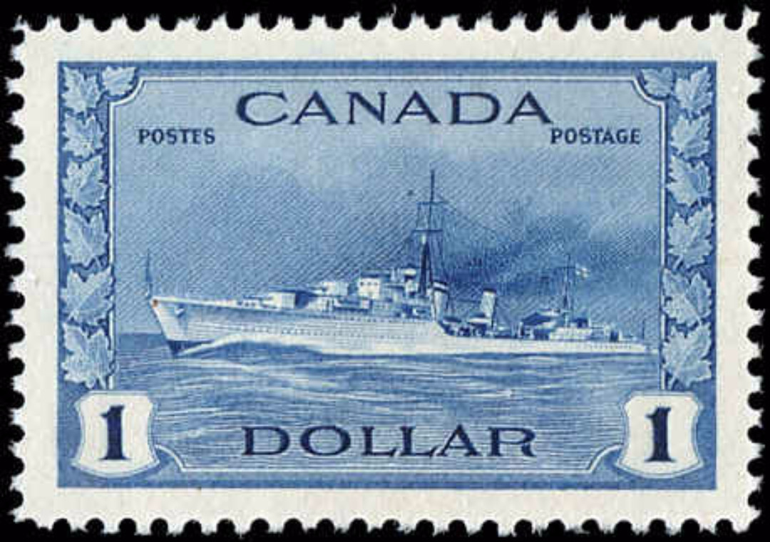 Canada #262, War Issue, VF, MH