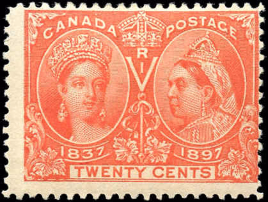 Canada ##59, Jubilee Issue, F, MH