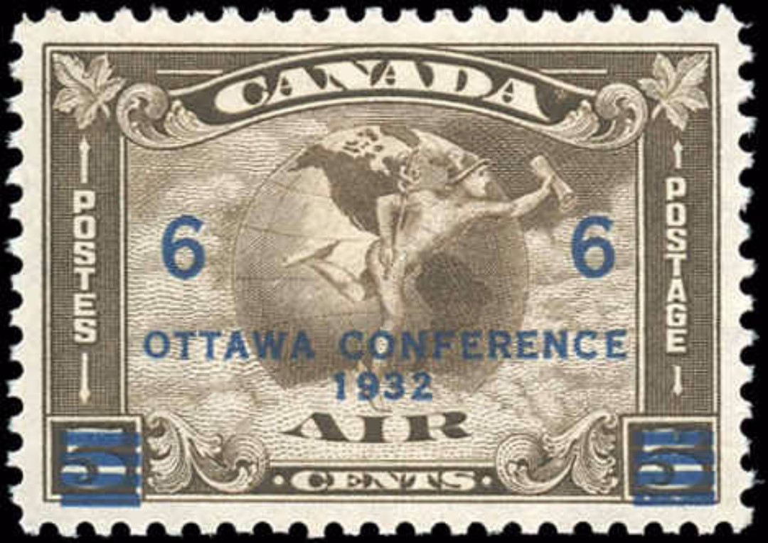 Canada #C4, Airmail Issue, VF, MH