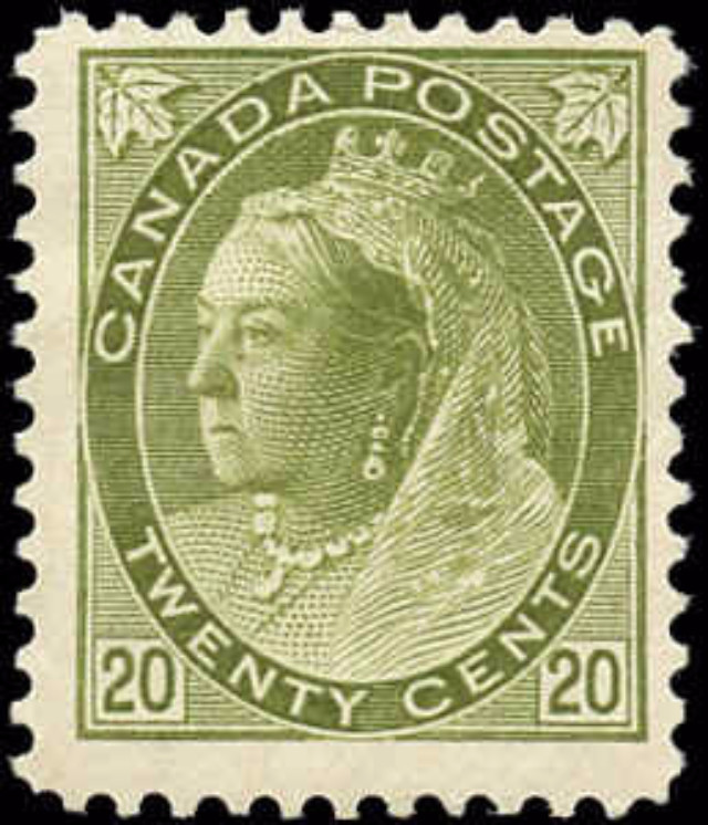 Canada ##84, Numeral Issue, F, M-No Gum