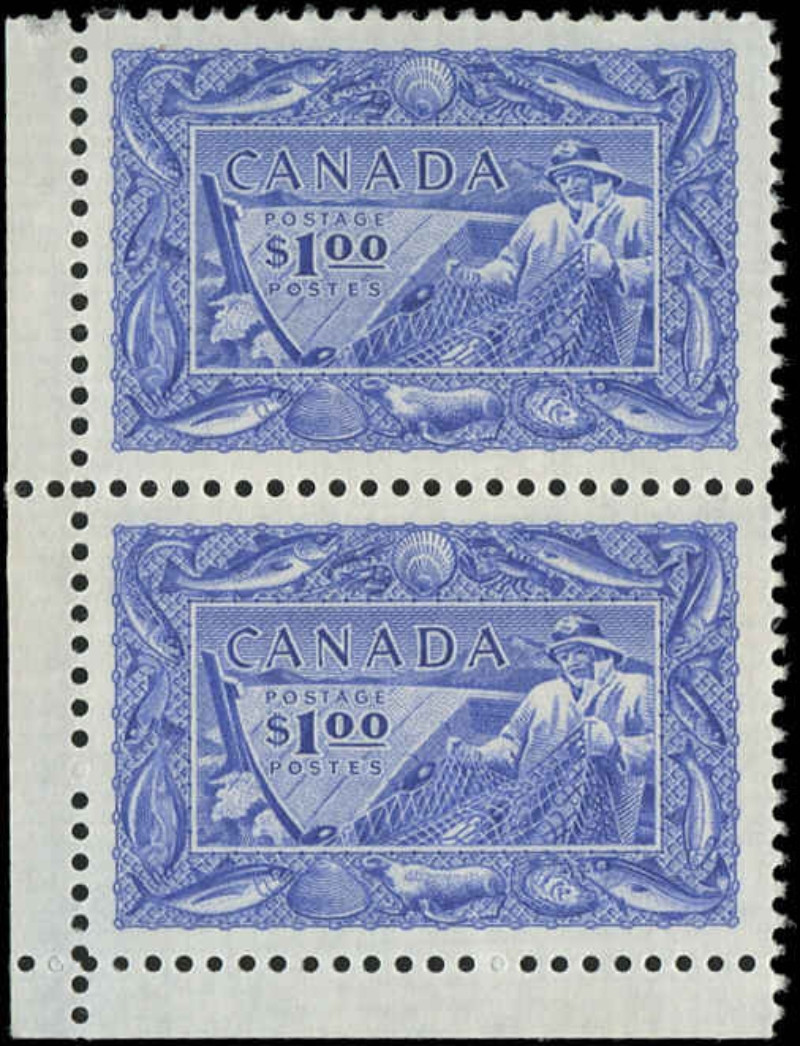 Canada #302, Fish Resources Issue, F-VF, M
