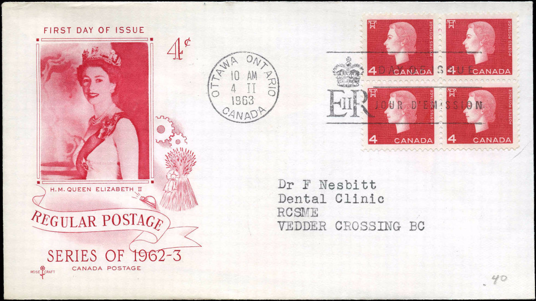 Canada, First Day Cover: Feb.4,1963