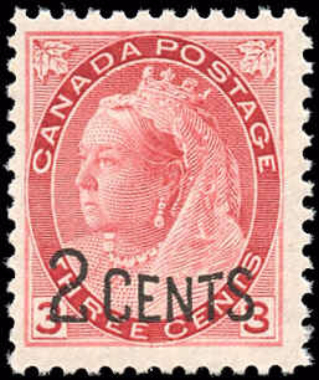 Canada ##88, Provisional Issue, F+, MNH