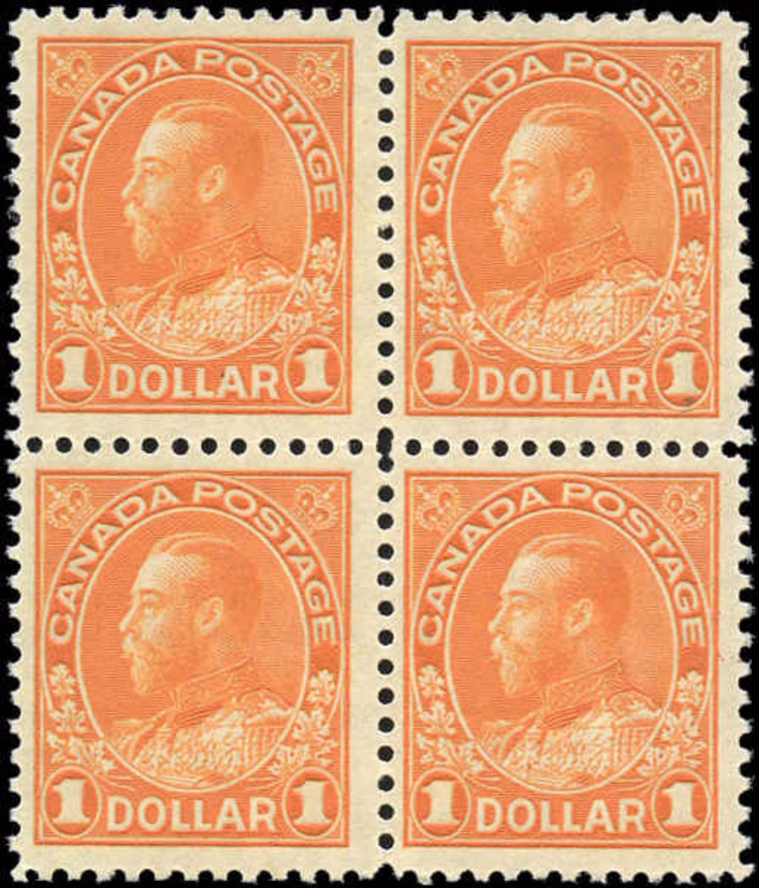 Canada #122, Admiral Issue, F, MNH