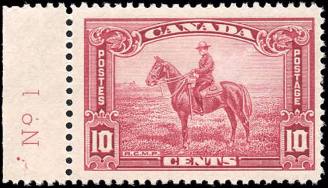 Canada #223, Pictorial Issue, F+, MH