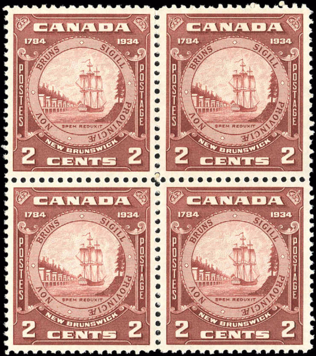 Canada #210, New Brunswick Issue, VF, M