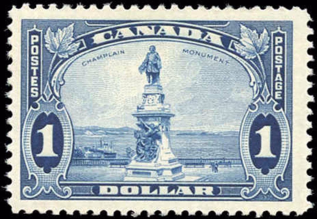 Canada #227, Pictorial Issue, F-VF, MH