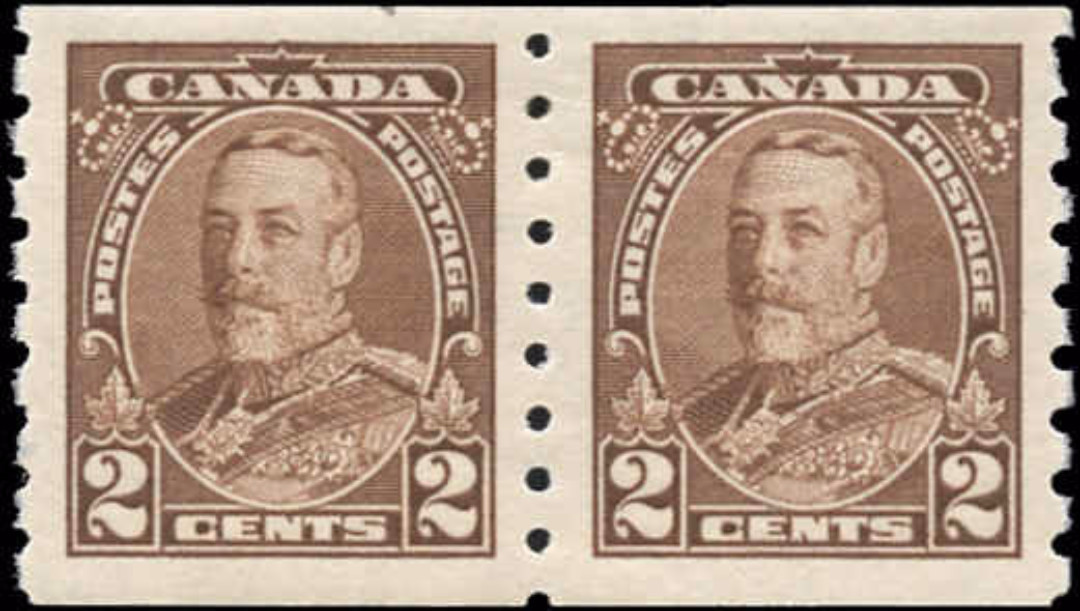Canada #229, Coil Pictorial Issue, F-VF, MH