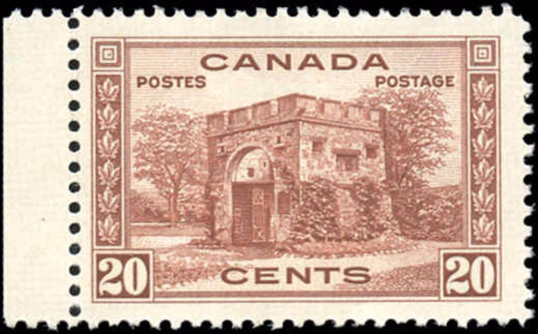 Canada #243, 1938 Pictorial Issue, F-VF, MH