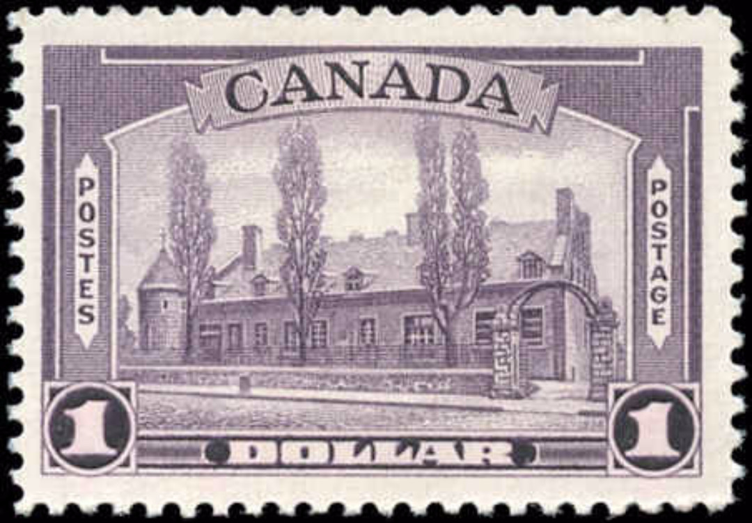 Canada #245, 1938 Pictorial Issue, F-VF, MH