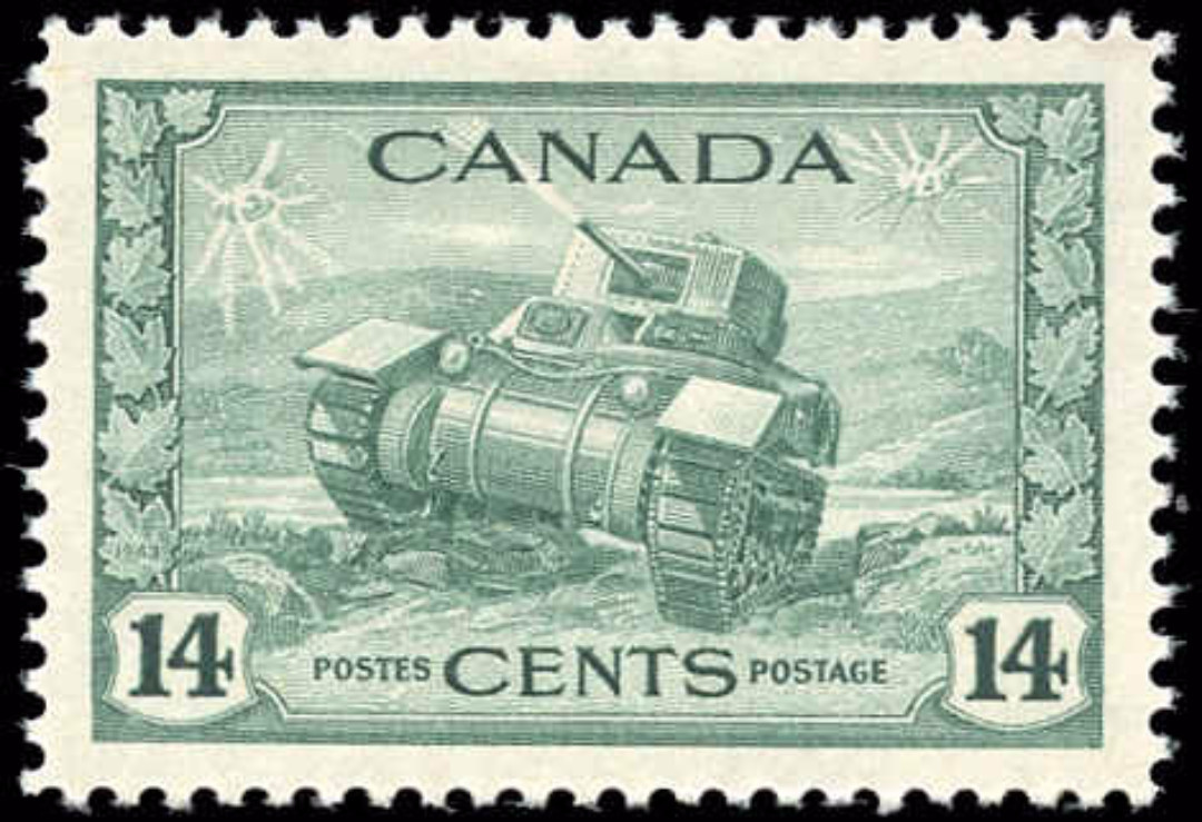 Canada #259, War Issue, VF, MH