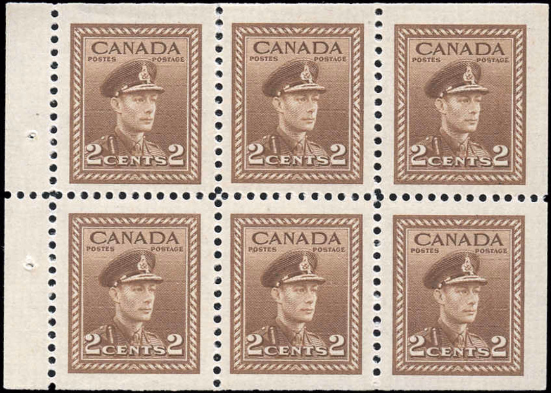 Canada #250b, War Issue, F-VF, M