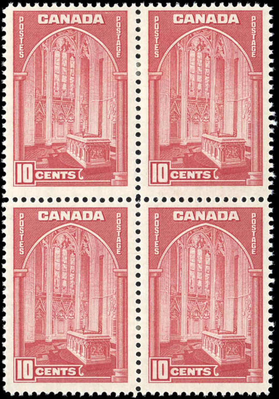 Canada #241, 1938 Pictorial Issue, F+, MH