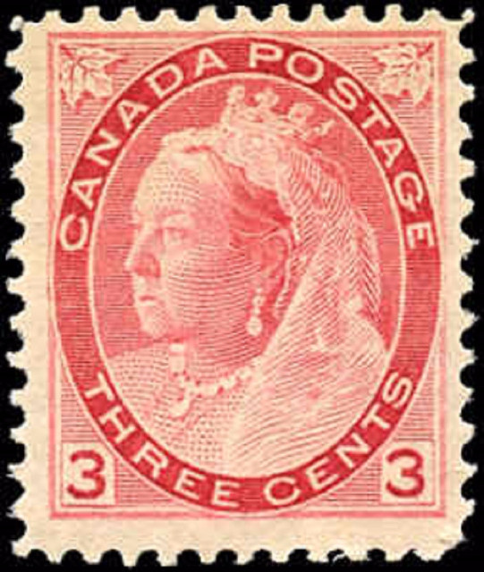Canada ##78, Numeral Issue, F-VF, MH
